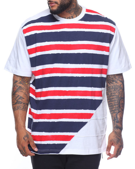 Parish - S/S Striped Tee (B&T)
