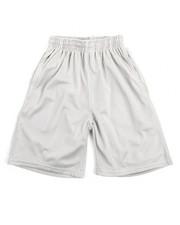 Bottoms - Solid Mesh Shorts (8-20)-2108886