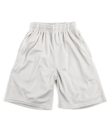 Arcade Styles - Solid Mesh Shorts (8-20)