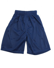Shorts - Solid Mesh Short (8-20)
