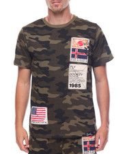 Flysociety - Camo Patch Tee