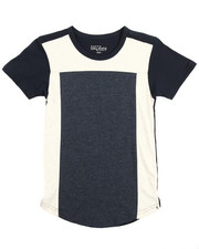 Boys - S/S Crew Neck Colorblock Tee (8-20)