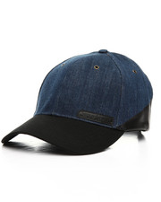 Men - Dipped Denim Cobalt Cap