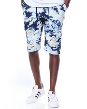 Men - Knit Tie-Dye Short