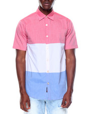 Button-downs - S/S Tricolor Button-down
