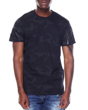 T-Shirts - Nylon Trimmed Tee