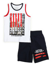 Shorts - Tank Top & Sweat-short Set (4-7)