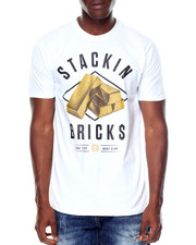 OUTRANK - S/S Stackin Bricks Tee