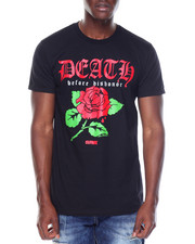OUTRANK - S/S Death Before Dishonor Tee