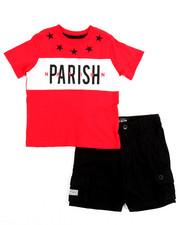 Parish - Tee & Cargo Short Set (2T-4T)