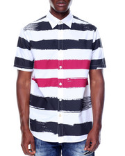 Enyce - S/S Paintbrush Button-down