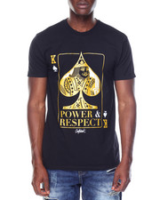 OUTRANK - S/S Power And Respect Tee