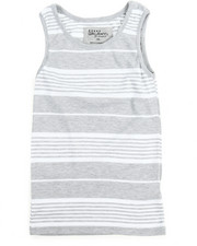 Sizes 8-20 - Big Kids - Yarn Dyed Stripe Tank Top (8-20)
