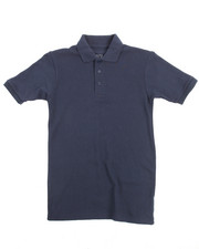 Arcade Styles - Solid S/S Pique Polo (8-20)