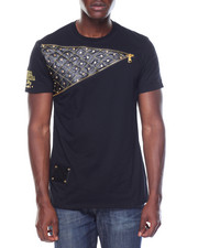 Men - Studded Insert Tee