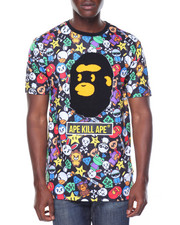 Shirts - Aka Cartoon Pattern Tee