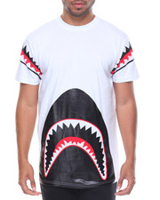 Men - Shark Teeth Trimmed Tee
