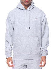 Champion - Powerblend Basic Pullover Hood Small