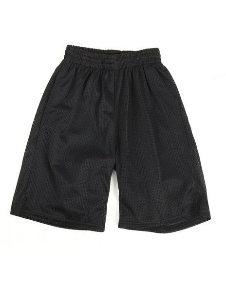 Arcade Styles - Solid Mesh Shorts (8-20)