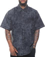 Short-Sleeve - Short Sleeve Denim Shirt (B&T)