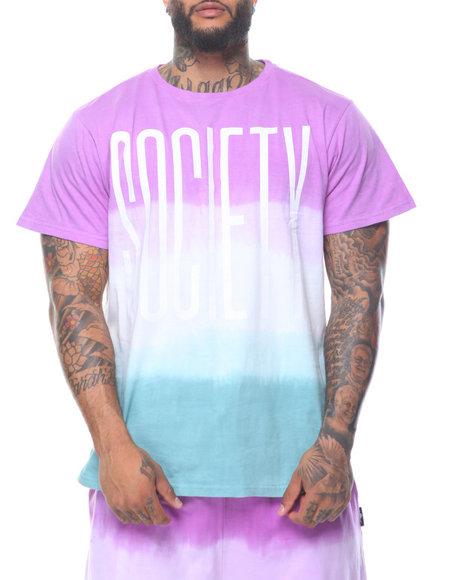 Fly Society - Dip Dye Short Sleeve Tee (B&T)