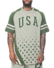 Enyce - Usa Raglan Sleeve Tee (B&T)