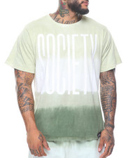Fly Society - Dip Dye Short Sleeve Tee (B&T)-2110408