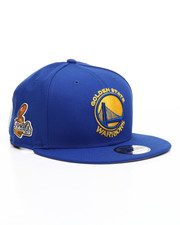 Men - 9Fifty Golden State Warriors Team Color 2017 Champions Patch Hat