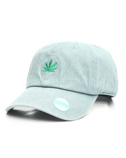 Summer-Mens - Marijuana Leaf Dad Hat