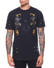 Shirts - Panther Embroidery/Gold Trim Top