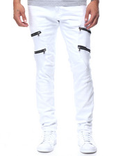 Jeans & Pants - Moto Jeans With Zippers
