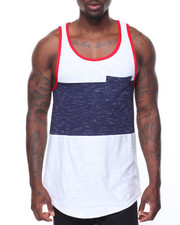 Tanks - Slub Colorblock Tank
