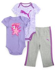 Puma - 3 Piece Bodysuit/Pant Set (Infant)