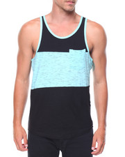Tanks - Slub Color Block Tank