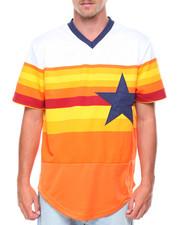 Jerseys - 34 Starz Stripe Jersey With Applique