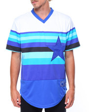 Men - 34 Starz Stripe Jersey With Applique