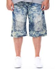 Shorts - Cult Moto Denim Shorts (B&T)