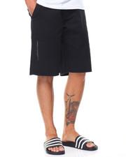 Men - Side Zipper Twill Short