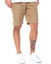 Shorts - Drawstring Twill Stretch Shirt