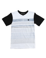 Zoo York - Cranium S/S V-Neck Tee  (8-20)