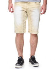Shorts - Ice Marble Wash Twill Shorts