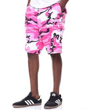 Men - Camo Combat Shorts