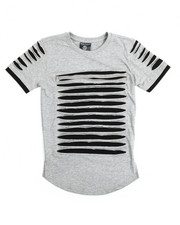 SWITCH - Zip Trim Razor Slashed Tee (8-20)