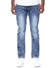 Jeans & Pants - Embroidered Front Pkt Denim