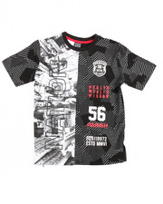 Boys - One Nation Split S/S Tee (8-20)