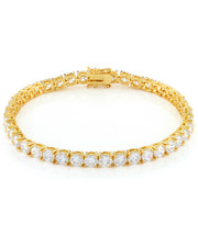 King Ice - 5mm Single Row Tennis Bracelet