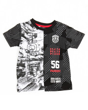 Tops - One Nation Split S/S Tee (2T-4T