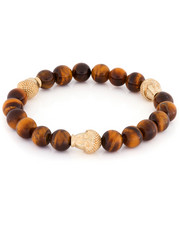 King Ice - King Ice Tiger Eye Buddha Beaded Bracelet-2114586