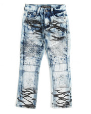Arcade Styles - Moto Fashion Denim Jean (4-7)