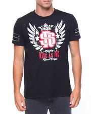 T-Shirts - S/S Reign Supreme Raised Letter T-shirt